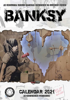 Kalendár 2021 Banksy