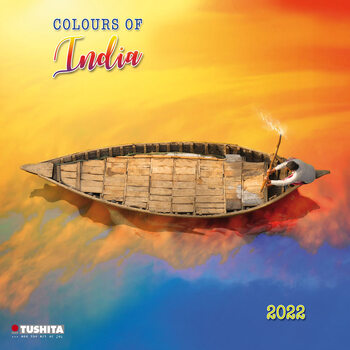 Kalendář 2022 Barvy Indie