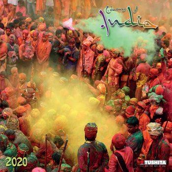 Kalendář 2020  Barvy Indie