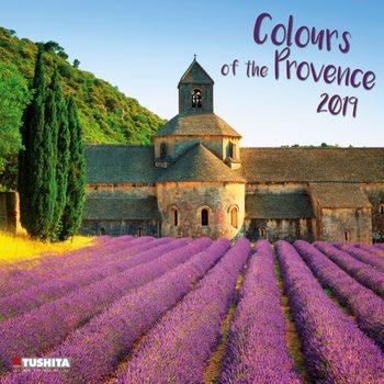 Kalendář 2019  Barvy Provence