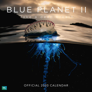 Kalendár 2020  BBC Blue Planet
