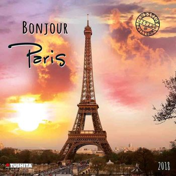 Kalendár 2018 Bonjour Paris