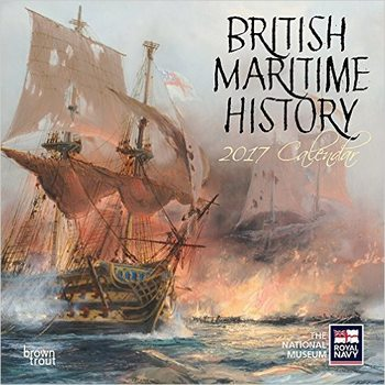 Kalendář 2017 British Maritime History