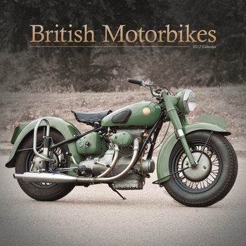 Kalendář 2017 British Motorbikes