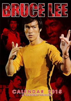 Kalendár 2017 Bruce Lee