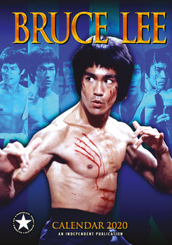 Kalendář 2020  Bruce Lee