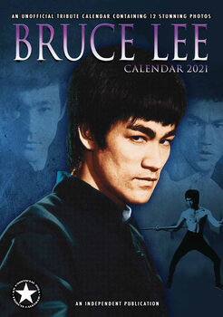 Kalendář 2021 Bruce Lee