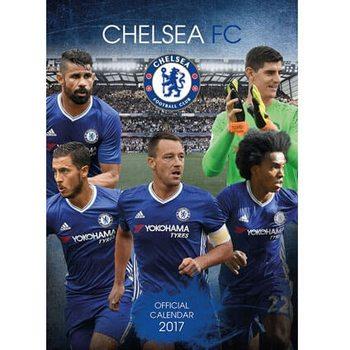 Kalendář 2017 Chelsea