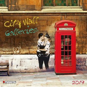Kalendář 2019  City Wall Galeries