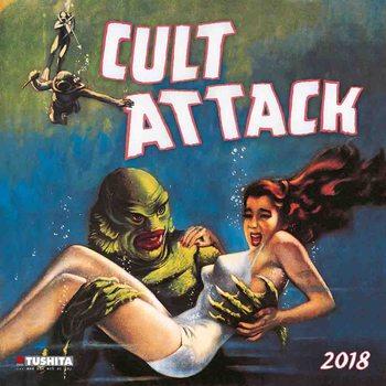 Kalendár 2018 Cult Attack