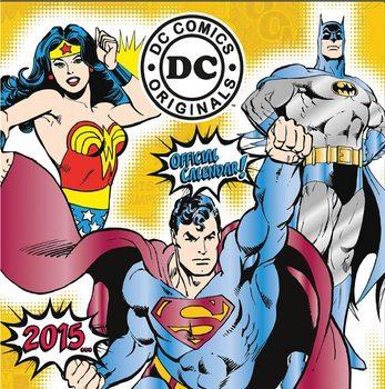 Kalendář 2021 DC Comics