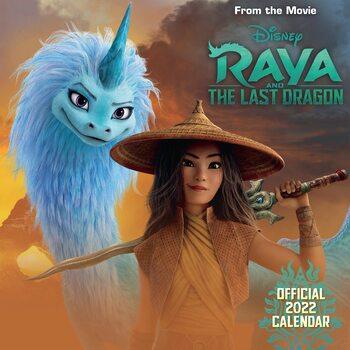 Kalendář 2022 Disney Raya & the Last Dragon