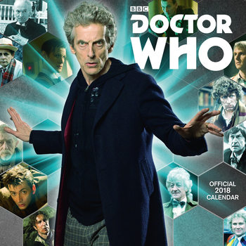 Kalendár 2018 Doctor Who Classic Edition