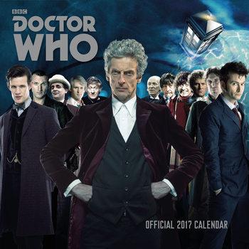 Kalendář 2017 Doctor Who