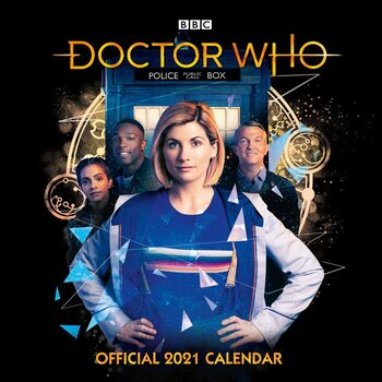 Kalendár 2021 Doctor Who - The 13Th Doctor