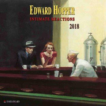 Kalendár 2018 Edward Hopper - Intimate Reactions