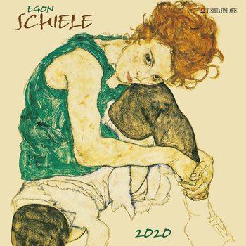 Kalendář 2020  Egon Schiele