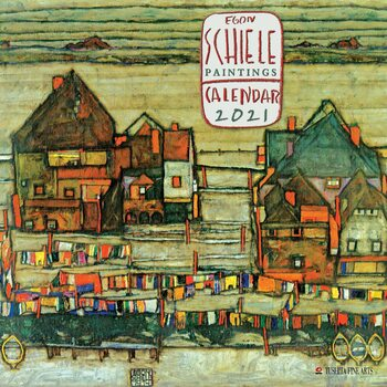 Kalendář 2021 Egon Schiele - Paintings