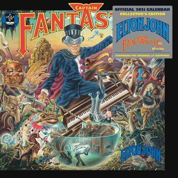 Kalendár 2021 Elton John - Collector's Edition