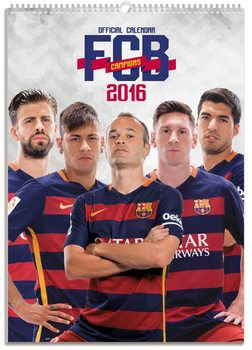 Kalendár 2017 FC Barcelona