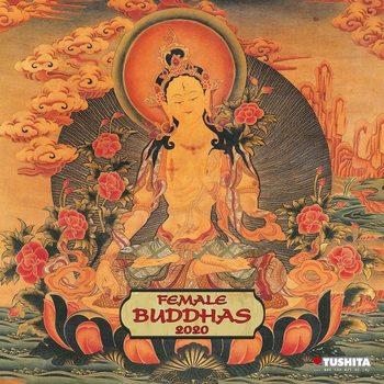 Kalendář 2020 Female Buddhas