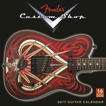 Kalendár 2017 Fender