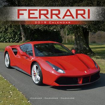 Kalendár 2019  Ferrari