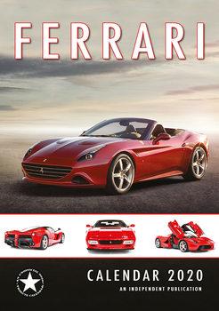 Kalendář 2020  Ferrari