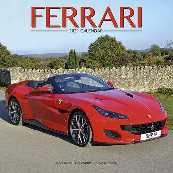 Kalendář 2021 Ferrari