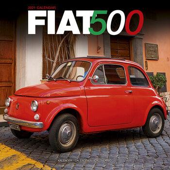 Kalendář 2021 Fiat 500