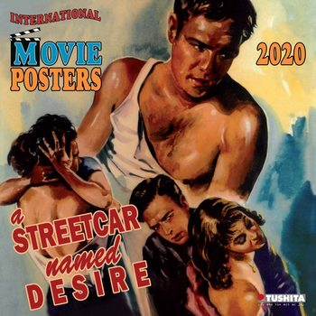 Kalendář 2020  Filmové plakáty
