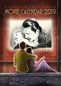 Kalendář 2019  Filmový Kalendář 2019 - A Tribute To Movie Classics