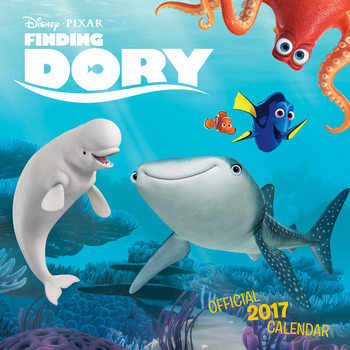 Kalendár 2017 Finding Dory