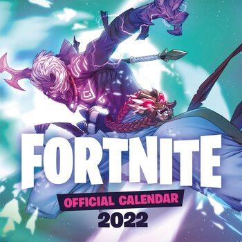Kalendář 2022 Fortnite