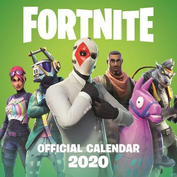 Kalendár 2020 Fortnite