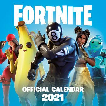 Kalendář 2021 Fortnite