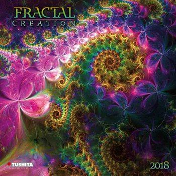 Kalendár 2018 Fractal Creation