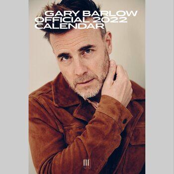 Kalendář 2022 Gary Barlow