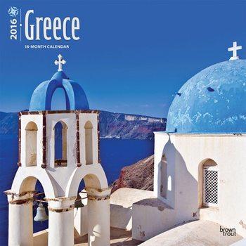 Kalendár 2021 Grécko