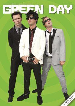 Kalendář 2017 Green Day