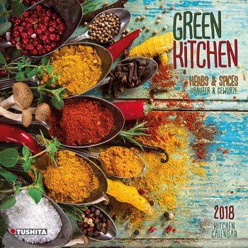 Kalendár 2018 Green Kitchen