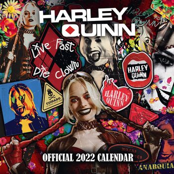 Kalendář 2022 Harley Quinn