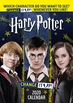 Kalendář 2020  Harry Potter - Change It Up