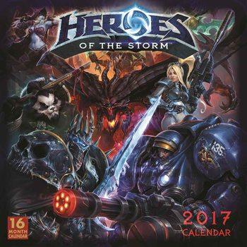 Kalendář 2017 Heroes of the Storm