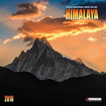 Kalendár 2018 Himalaya