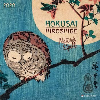 Kalendář 2020  Hokusai - Nature