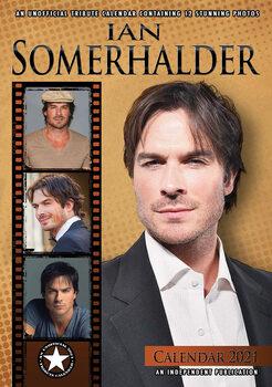 Kalendář 2021 Ian Somerhalder