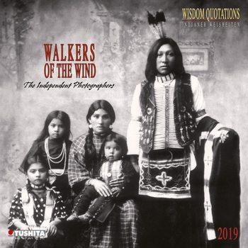 Kalendář 2019  Indiáni - Walkers of the Wind