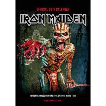 Kalendář 2017 Iron Maiden