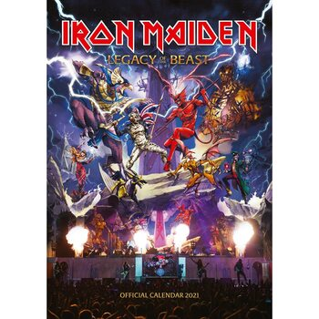 Kalendár 2021 Iron Maiden